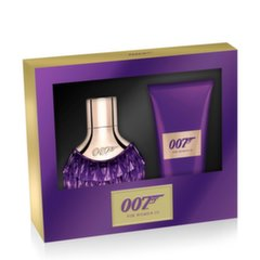 Komplekt James Bond 007 For Woman III: EDP naistele 30 ml+ ihupiim 50 ml