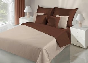 Voodipesukomplekt 3-osaline NOVA Collection Beige Brown, 200x200 cm
