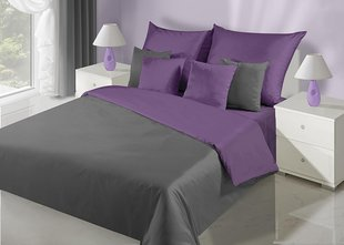 Voodipesukomplekt 3-osaline NOVA Collection Violet Steel, 200x220 cm