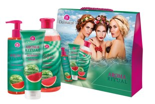Vanni komplekt Dermacol Aroma Ritual Fresh Watermelon Kit 7086