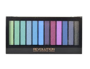 Палетка теней для век Makeup Revolution London Redemption Mermaids vs Unicorns 14 г