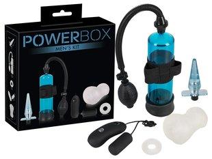 """Комплект секс-товаров """"Powerbox Men Set"""", 4 шт."""