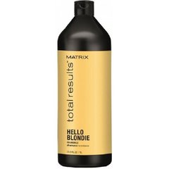 Šampoon heledatele juustele Matrix Total Results Hello Blondie Chamomile 1000 ml