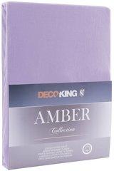 Kummiga voodilina DecoKing jersey Amber Violet 120x200 cm hind ja info | Voodilinad | kaup24.ee