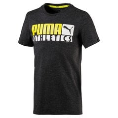 Puma футболка Style Graphic Tee Dark Gray Heather
