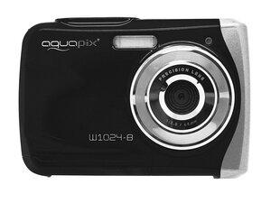 Digitaalne kaamera Easypix AquaPix W1024-B, must hind ja info | Fotoaparaadid | kaup24.ee