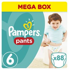 Mähkmed Pampers Pants Mega Box, 15+ kg, 88 tk.