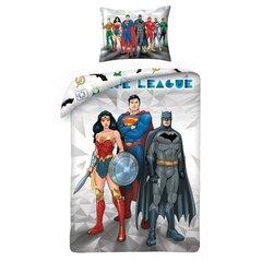 Voodipesukomplekt Justice league, 2 osa hind ja info | Voodipesu lastele ja imikutele | kaup24.ee