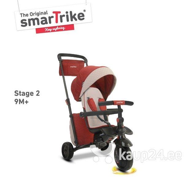 Kolmerattaline SmartTrike 600 7 in 1, punane soodsam