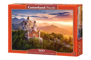 Pusle Puzzle Castorland View of the Neuschwanstein Castle, Germany, 500 tk