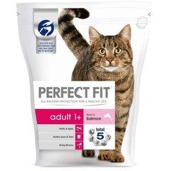 Kuivtoit kassidele PERFECT FIT, lõhega, 750g цена и информация | Сухой корм для кошек | kaup24.ee