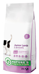 Nature's Protection Dog Junior Lamb, 2 kg hind ja info | Nature's Protection Dog Junior Lamb, 2 kg | kaup24.ee