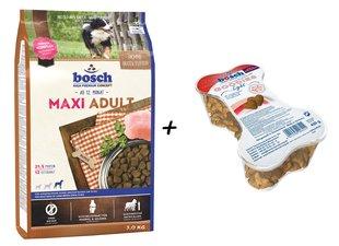 Сухой корм для собак Maxi Adult 3кг + Goodies Light 450г