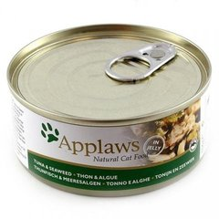 Applaws Cat Tuna Fillet with Seaweed, 156 g hind ja info | Konservid kassidele | kaup24.ee