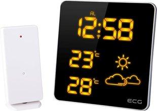 Ilmajaam ECG MS007 Orange hind ja info | Ilmajaamad, termomeetrid | kaup24.ee