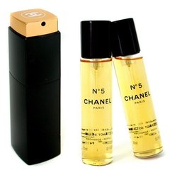 Tualettvesi Chanel N°5 EDT naistele 3 x 20 ml
