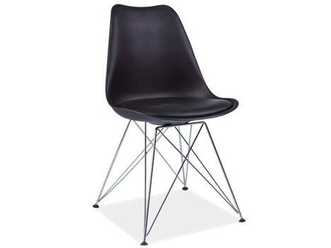 Комплект из 4 стульев Tim, чёрный