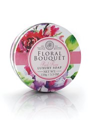 Seep Floral Bouquet Triple Milled Luxury Soap Red Rose 150 g