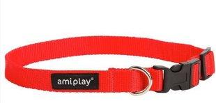 Reguleeritav kaelarihm Amiplay Basic, S, punane