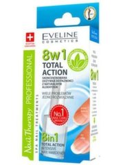 Küüne tugevdaja 8in1 Total Action Sensitive Eveline 12 ml