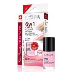 Küünte palsam + lakk Eveline Nail Therapy Care&Colour 6in1 5 ml