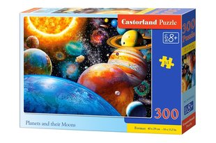 Pusle Puzzle Castorland Planets and their Moons, 300 osa hind ja info | Pusle Puzzle Castorland Planets and their Moons, 300 osa | kaup24.ee