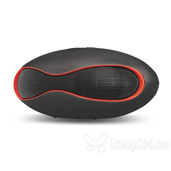 Setty Ellipse Bluetooth Speaker System with Micro SD / SD / LED / 3W / 400 mAh Black