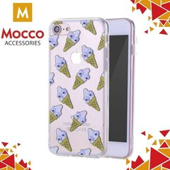 Kaitseümbris Mocco Cartoon Eyes Ice Cream Back Case, sobib iPhone 6 / 6S telefonile