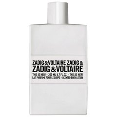 Ihupiim Zadig & Voltaire This is Her! naistele 200 ml