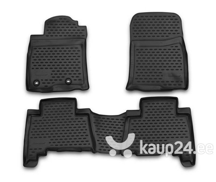 Kummimatid 3D TOYOTA Land Cruiser 150 2013-2015, 2015->, 5 places, 4 pcs. /L62060