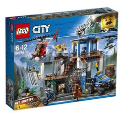 60174 LEGO® City Police Mountain Police Headquarters