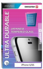 Swissten Ultra Durable Japanese Tempered Glass Premium 9H Screen Protector Apple iPhone 6 Plus / iPhone 6S Plus