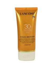 Päikesekaitsega näokreem Lancome Soleil Bronzer SPF30 50 ml