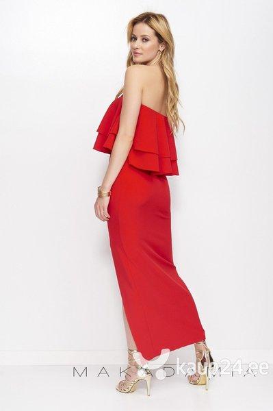 Naiste kleit Makadamia M399, punane