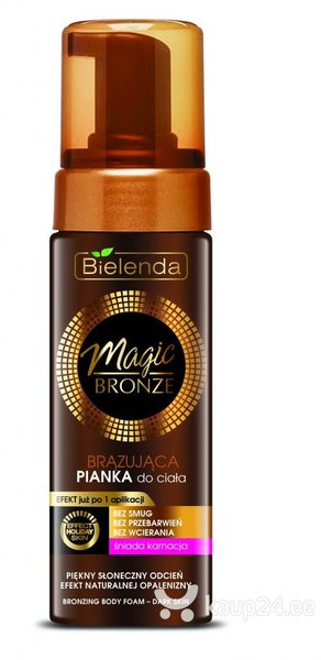 Isepruunistav vaht tumedale nahale Bielenda Bronze Magic 150 ml