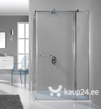 Nurga dušikabiin Sanplast Prestige III KNDJ2/PR III 75x120s, profiil matt grafiit hind ja info | Dušikabiinid | kaup24.ee
