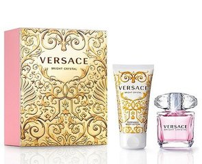 Komplekt Versace Bright Crystal: EDT naistele 30 ml + kehakreem 50 ml