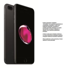 Mobiiltelefon Apple iPhone 7 32GB, Must (Uuendatud) A-klass