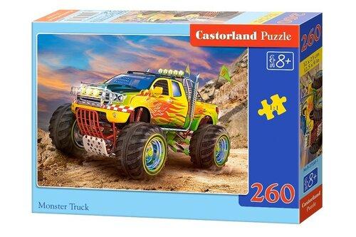 Pusle Castorland Monster Truck, 260 osa hind ja info | Pusled | kaup24.ee