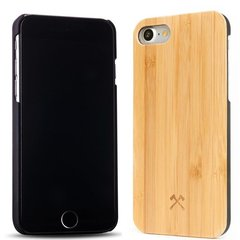 Kaitseümbris Woodcessories Bamboo ECO118 sobib Apple iPhone 7, Apple iPhone 8