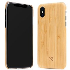 Kaitseümbris Woodcessories Cevlar Bamboo eco211 sobib Apple iPhone X