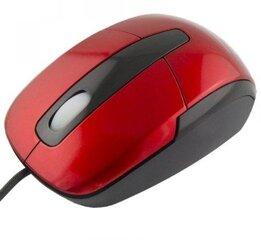 Juhtmega optiline hiir Esperanza Titanum TM108R, punane