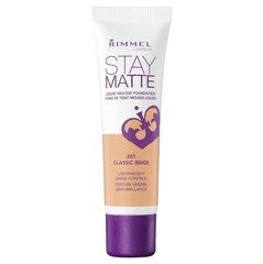 Jumestuskreem Rimmel London Stay Matte Liquid Mousse 30 ml