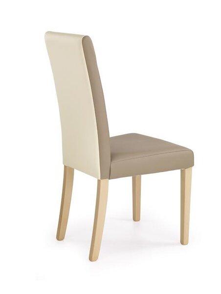 Комплект из 2 стульев Halmar Norbert, дубовый/кремовый цвет