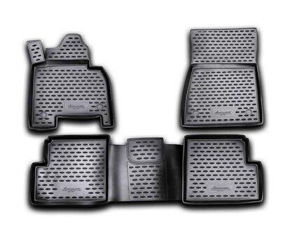 Kummimatid 3D MERCEDES-BENZ G-Class W463 2007->, 4 pcs. /L46020
