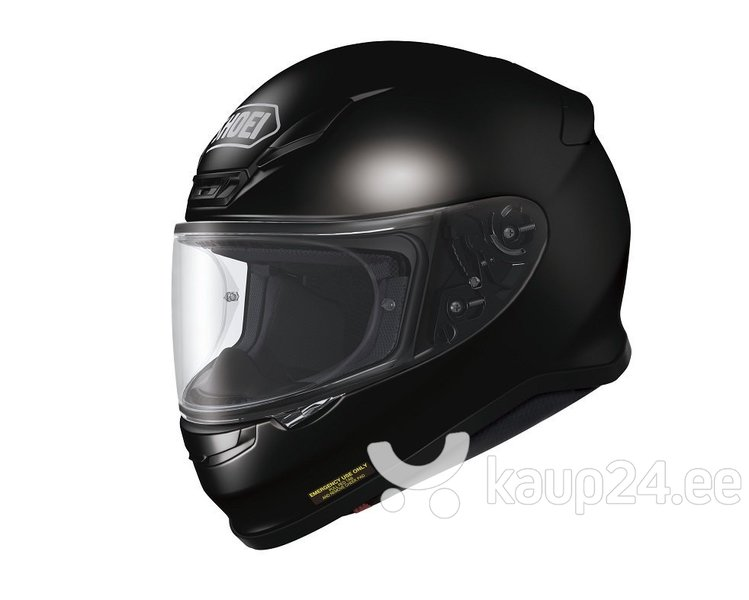 Sportlik kiiver Shoei NXR, must