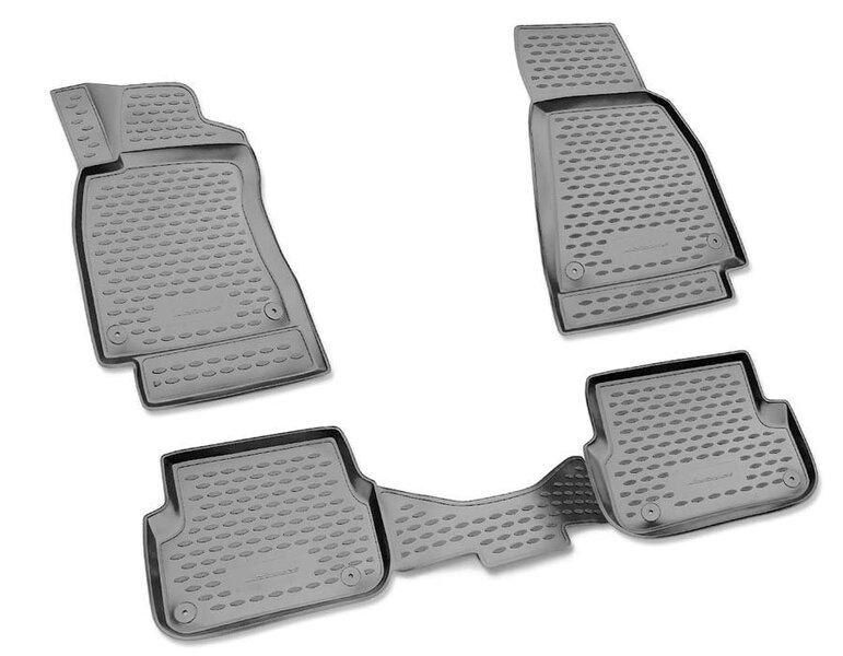 Kummimatid 3D INFINITI M 2010-2013/Q70 2013->, 4 pcs. /L30015G /gray