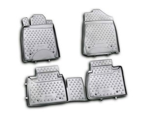 Kummimatid 3D LEXUS ES350 2010-2012, 4 pcs. /L41013G /gray hind ja info | Kummimatid | kaup24.ee