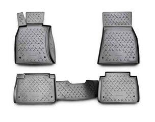 Kummimatid 3D LEXUS LS460 2006-2012, 4 pcs. /L41023G /gray цена и информация | Резиновые коврики | kaup24.ee