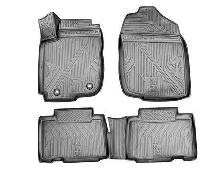 Kummimatid 3D TOYOTA RAV4 2013-2015, 2015-2018, 4 pcs. /L62014G /gray